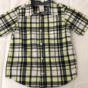 Gymboree button up shirt size 5T